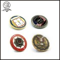 Command Team metal coin OEM designs