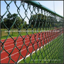 Hot Dipped Galvanized Chain Link Fence 0.6mm