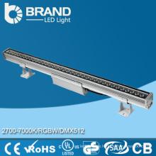 Qualitäts-Farben-ändernde DMX-Steuer-Wand-Unterlegscheibe RGB LED 15 * 3W Wand-Unterlegscheibe