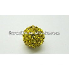 shamballa clay crystal ball,shamballa beads