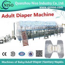 Fabricação de Máquina de Fralda Completa de Meio Servo Adulto (CNK250-HSV)
