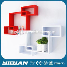 High Gloss Cube Shelf Decorative Wall Shelves Home Wall Shelves