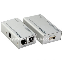 HDMI Super Extender von Cat-5E / 6 Kabel, Cat5 x1, HDMI Extender auf 60m