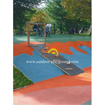 Panel Melangkah Wall Climbing Wall Kids For Sale