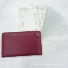 Plastic Wallet, PU Card Holder (EK-014) , Business Card Holder