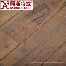 Plancher en stratifié en bois de 8mm / 12mm, plancher imperméable de stratifié AC3 AC4 E1 HDF AC3