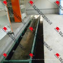 Machine à fumier Jinfeng pour la ferme de poulet