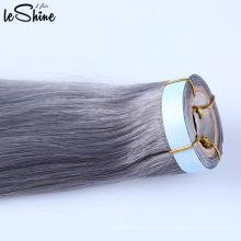 40 Zoll-Haar-Erweiterungen, Jungfrau-peruanisches Haar die besten Haar-Verkäufer, Haut-Schuss