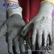 NMSAFETY fabricante de guantes resistentes a la mano en China