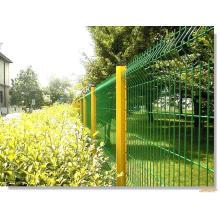 Die schnelle Pfosten PVC beschichtete Draht-Ineinander greifen-Garten-Zaun-Paneele
