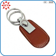 Factory Direct Sale Leather Keychain Wholesale for Business Gift