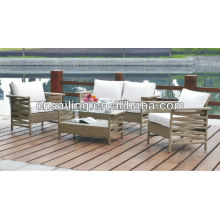 Вся погода Wicker New Design Высококачественная мебель из ротанга Секционная мебель для софа