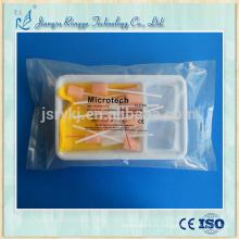 Kit d'hygiène bucale à brosse à éponge jetable médical