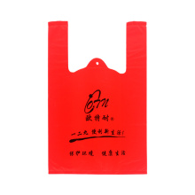 Hot Sales Plastic Vest Handle Bag