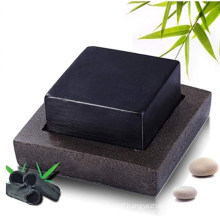 Natural Bamboo Activated Charcoal Soap Bar for Face Cleansing Skin Acne