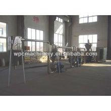 Holz Kunststoff Granulierung Produktionslinie