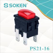 Soken Garment Steamer Push Button Switch 2 Pole