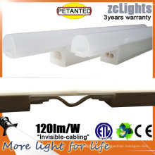 T5 8W Linkable gabinete de luz para Showcace