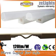 T5 8W Linkable gabinete de luz para Showcace