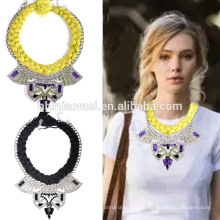 2017 accesorios de moda elegantes y populares del collar Collar de moda ambiental del diamante
