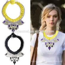 2017 elegante e popular colar de acessórios de moda elegante colar de diamantes ambiental