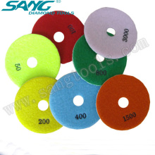Manufacture Stone Wet and Dry Polishing Pad (SA-058)