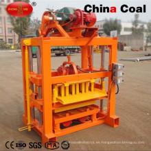 China Máquina de fabricación de ladrillo del carbón Qtj4-40