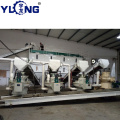Machine for making pellet wood