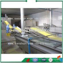 Hotsell Frutas y Hortalizas Línea de Congelación Rápida Completa / Maquinaria de Procesamiento IQF