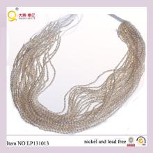 Perla de la forma del arroz blanco de 2.5mm pierde filamentos de la perla de la calidad