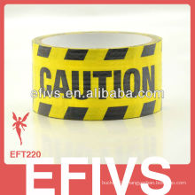 Useful caution print waterproof cloth duct tape