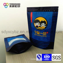 Stand up Plastic Pouch with Zipper Used for Food and Seafood
