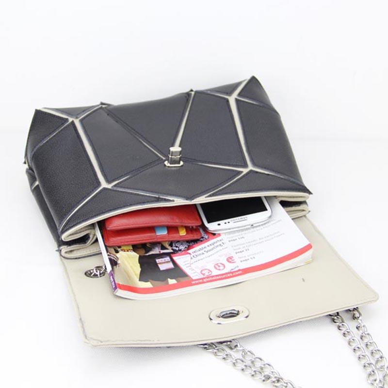 Medium Size Solid Modern Classic Crossbody Bags