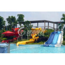 Funny Kids Water Slide Outdoor Spray Park Equipment for Aqu