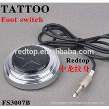 Venta al por mayor más barato profesional tatuaje pedal conmutador de pie