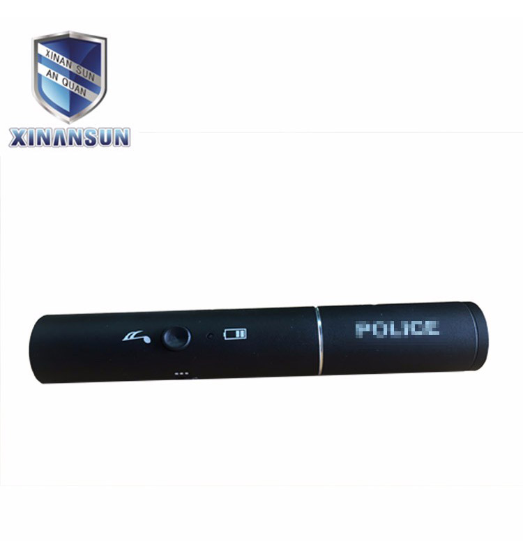 Black aluminium whistle
