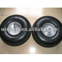 Hard and Soft Rubber pneumatic wheel