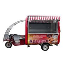 Battery Power Food Service Carrito de comida móvil