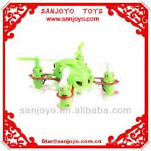 O helicóptero nano o mais pequeno do quadrilátero do rc do canal 2.4L 4 de WL V272 4, 2014 o brinquedo o mais novo !! Rotação 3D Quadcopter 6 eixos rc UFO