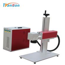 Mini machine d'inscription de gravure de laser de fibre en métal de bijoux