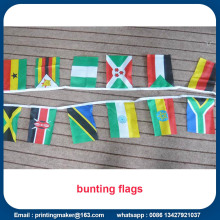 Bandiere di bandiere colorate Bunting triangolo multicolore