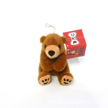plush bear Toys keychain