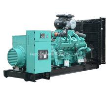 Jenerator diesel de 800kw 1000kVA CUMMINS con el motor Kta38-G5
