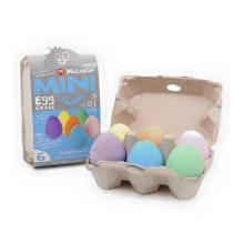 6pcs egg shaped chalk dutless creative chalk colored magic egg