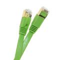 Cable plano del remiendo del alto rendimiento rj45 cat7