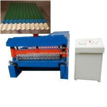 Galvanized corrugated profile sheet machine