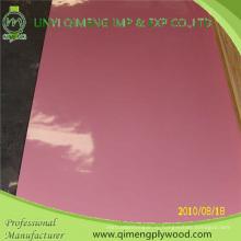 1.6 мм, 2.2 мм, 2.6 мм розовый полиэстер фанеры для рынка Индонезии