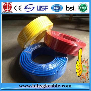 China H07V-U 1.5mm 2.5mm elektrische Kabel PVC Gebäude Draht Bs6004 ...