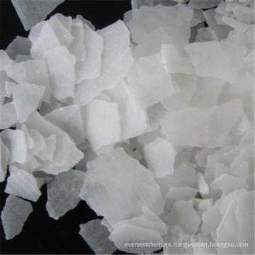 Escamas de hidróxido de sodio de densidad de escamas de soda cáustica de alta calidad