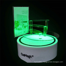 Luxury Acrylic Cosmetic Display Stand with LED Light